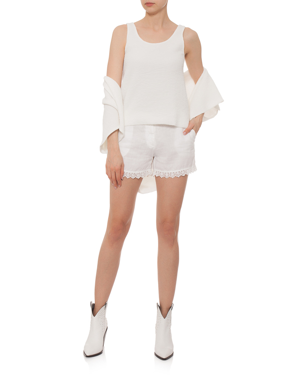 женская шорты 120% lino, сезон: лето 2015. Купить за 6000 руб. | Фото 3