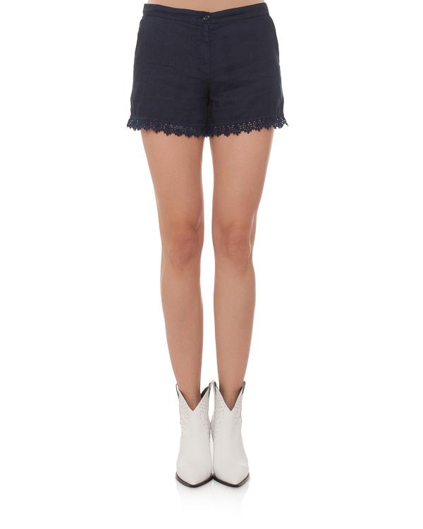 женская шорты 120% lino, сезон: лето 2015. Купить за 4800 руб. | Фото 2