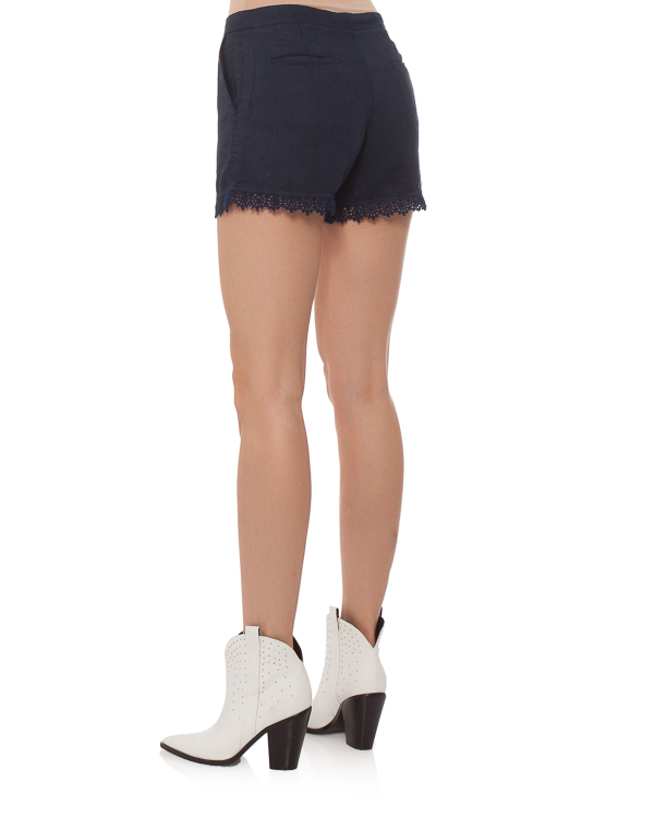 женская шорты 120% lino, сезон: лето 2015. Купить за 4800 руб. | Фото 4