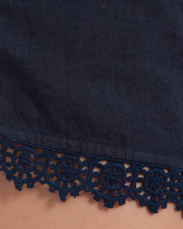 женская шорты 120% lino, сезон: лето 2015. Купить за 6000 руб. | Фото 5