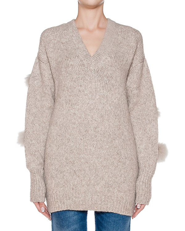 женская пуловер TIBI, сезон: зима 2016/17. Купить за 24000 руб. | Фото $i