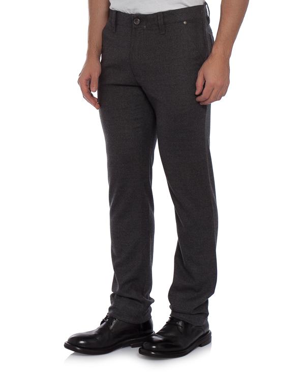 брюки прямого силуэта из тонкой шерсти артикул 313552 марки Cortigiani купить за 27000 руб.