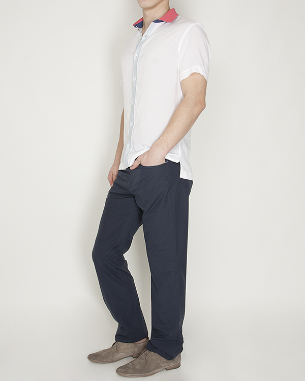 мужская брюки Cortigiani, сезон: лето 2013. Купить за 7600 руб. | Фото 3