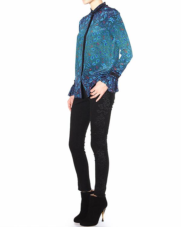 женская джинсы Marchesa Voyage, сезон: зима 2014/15. Купить за 12100 руб. | Фото 3