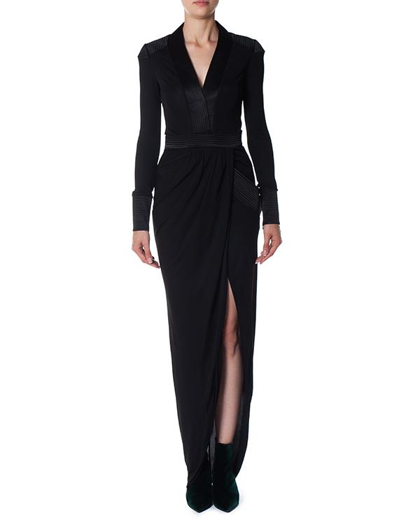 платье с высоким разрезом артикул 36MJ501 марки Thomas Wylde купить за 57700 руб.