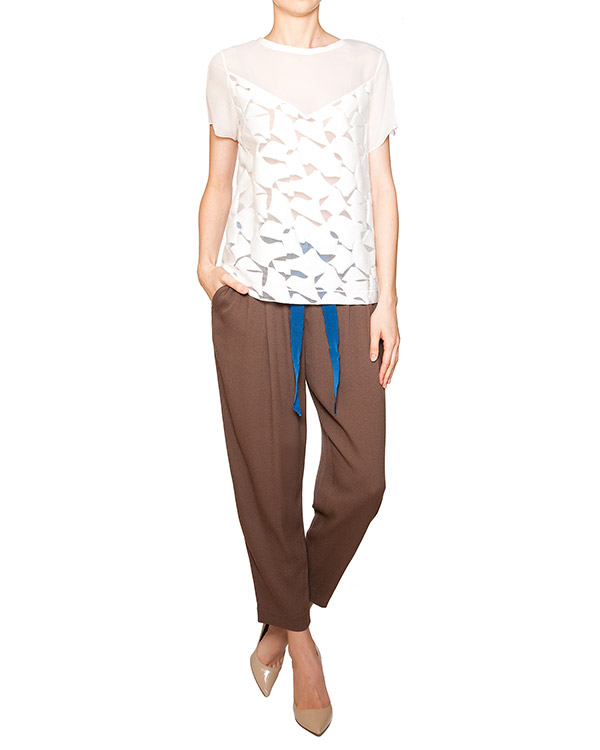 женская брюки SEMI-COUTURE, сезон: лето 2012. Купить за 8100 руб. | Фото $i