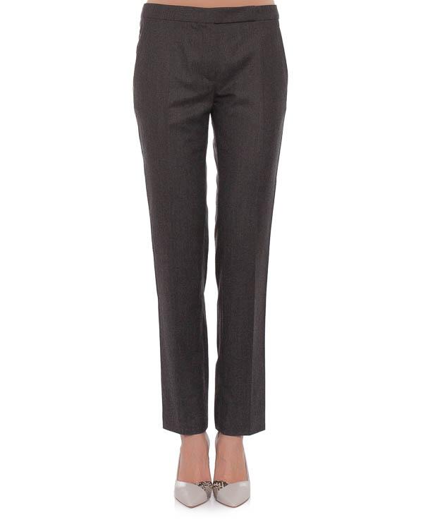брюки прямого кроя, со стрелками и прорезными боковыми карманами артикул 390P23 марки Carven купить за 12100 руб.