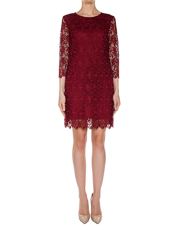 платье мини из плотного кружева артикул 39TAB62 марки ERMANNO SCERVINO купить за 27400 руб.
