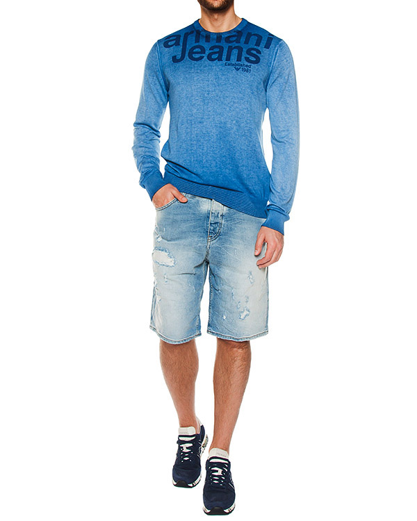 мужская бермуды ARMANI JEANS, сезон: лето 2017. Купить за 7500 руб. | Фото $i