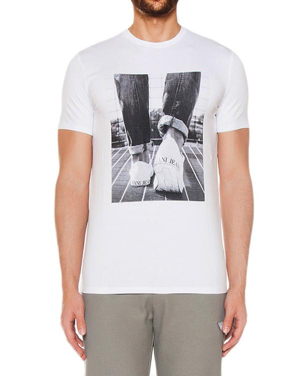футболка  артикул 3Y6T13 марки ARMANI JEANS купить за 7200 руб.