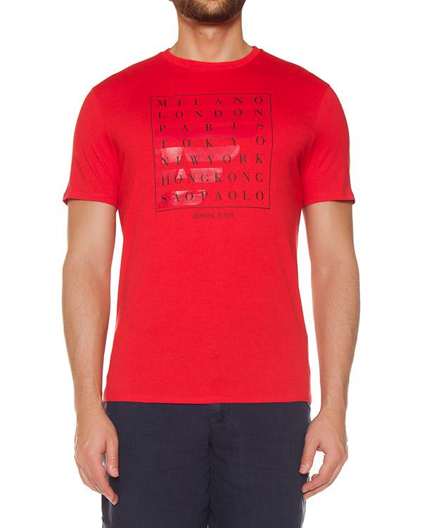 футболка  артикул 3Y6T21 марки ARMANI JEANS купить за 2600 руб.