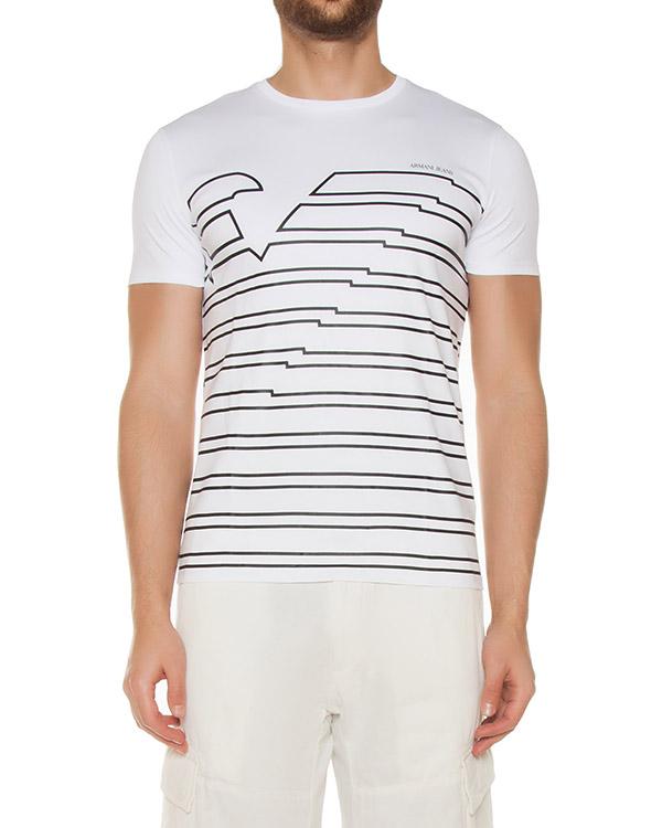 футболка  артикул 3Y6T37 марки ARMANI JEANS купить за 6300 руб.