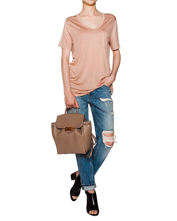 женская футболка T by Alexander Wang, сезон: лето 2016. Купить за 3200 руб. | Фото $i