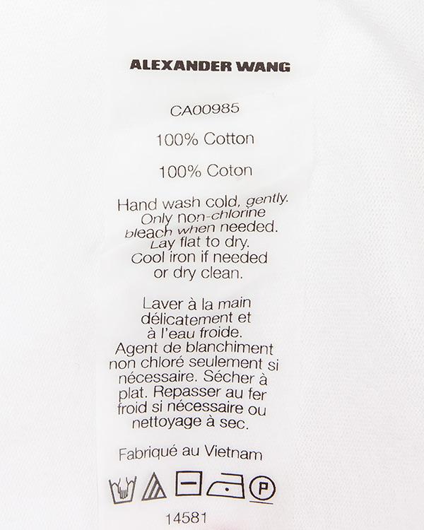 женская футболка T by Alexander Wang, сезон: лето 2016. Купить за 8800 руб. | Фото 5