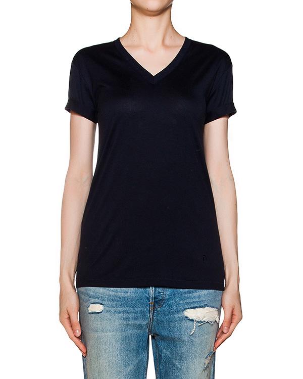 футболка из хлопкового трикотажа артикул 400207S16 марки T by Alexander Wang купить за 4400 руб.