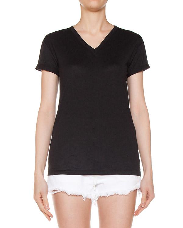 футболка из хлопкового трикотажа артикул 400207 марки T by Alexander Wang купить за 4200 руб.