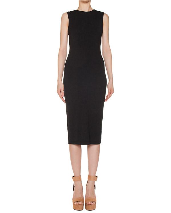 платье из трикотажа с вырезами на спине артикул 400411 марки T by Alexander Wang купить за 6000 руб.