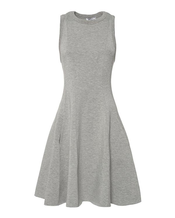 платье приталенного кроя из трикотажа артикул 401409P16 марки T by Alexander Wang купить за 18900 руб.