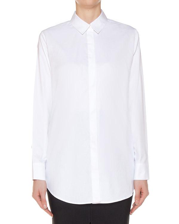 рубашка классического кроя из хлопка артикул 403304 марки T by Alexander Wang купить за 17500 руб.