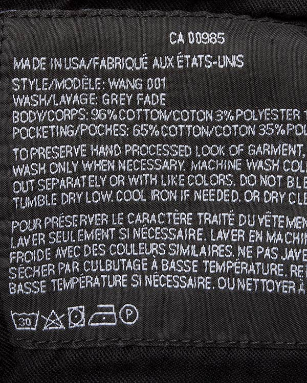 женская джинсы T by Alexander Wang, сезон: зима 2016/17. Купить за 24100 руб. | Фото 5