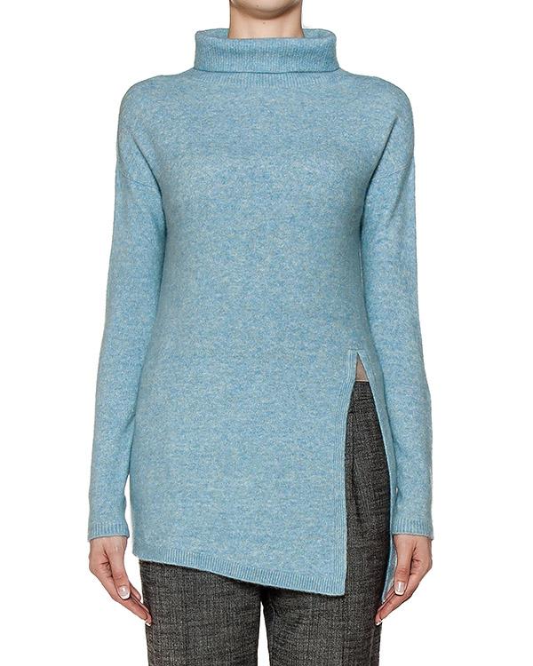 свитер из мягкого полушерстяного трикотажа с разрезом артикул 43512 марки D.EXTERIOR купить за 13300 руб.
