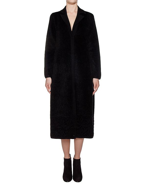 пальто из плотной шерстяной ткани с ворсом артикул 43523D марки D.EXTERIOR купить за 29100 руб.