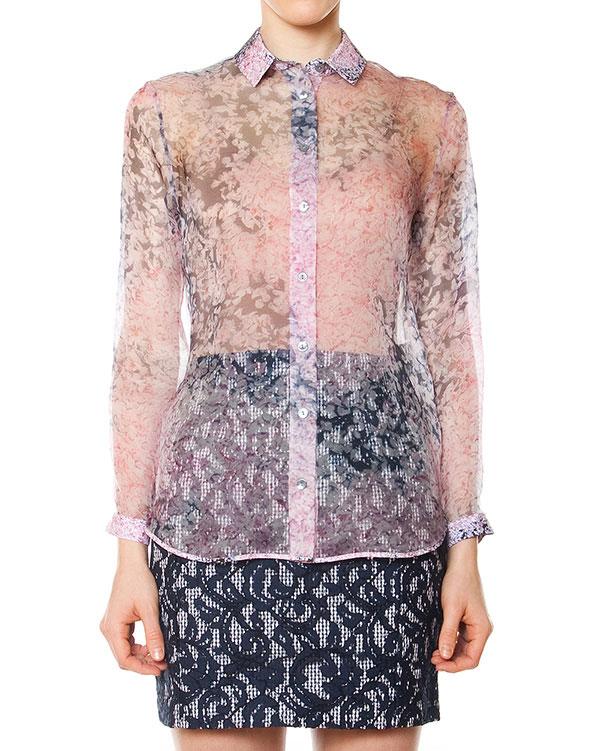 женская рубашка Carven, сезон: лето 2015. Купить за 17500 руб. | Фото 1