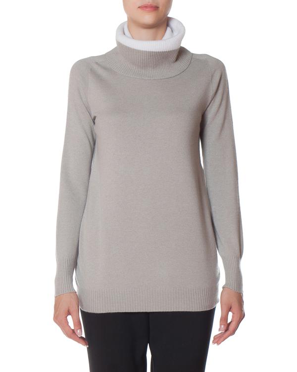 свитер из мягкого кашемира и шерсти артикул 45045 марки D.EXTERIOR купить за 20700 руб.