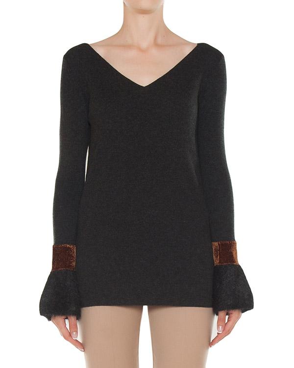 пуловер из мягкой шерсти с добавлением мохера артикул 45209 марки D.EXTERIOR купить за 25300 руб.