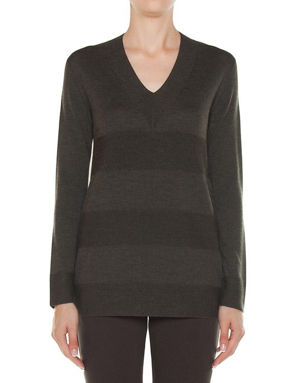 пуловер из трикотажной шерсти артикул 45372 марки D.EXTERIOR купить за 15400 руб.