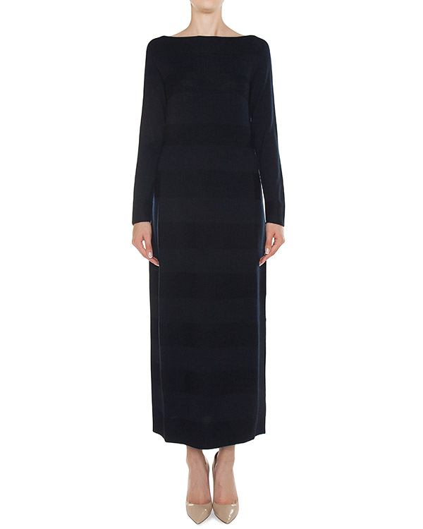 платье макси из трикотажной шерсти артикул 45376 марки D.EXTERIOR купить за 19000 руб.
