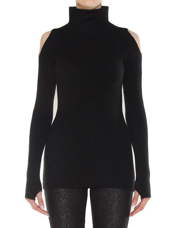 свитер из полушерстяного трикотажа с открытыми плечами артикул 45755 марки D.EXTERIOR купить за 19800 руб.