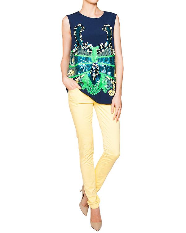 женская джинсы Galliano, сезон: лето 2012. Купить за 5500 руб. | Фото 3