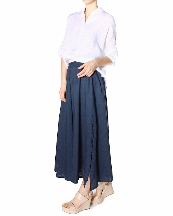 женская юбка 120% lino, сезон: лето 2015. Купить за 7200 руб. | Фото 3