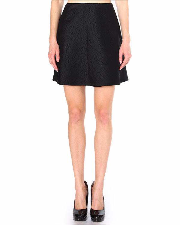 юбка из плотной фактурной ткани сложного плетения артикул 510J09 марки Carven купить за 9500 руб.