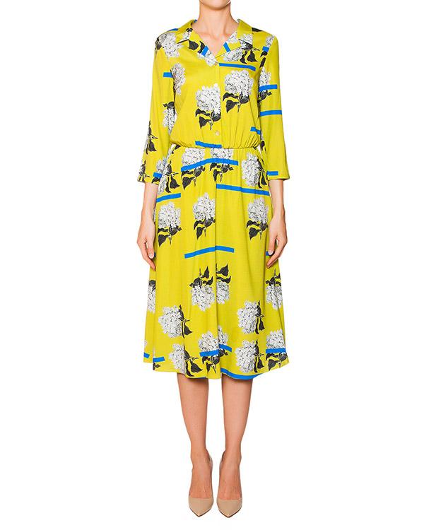 платье из тонкого шелка с цветочным принтом артикул 5341-6 марки Poustovit купить за 27900 руб.