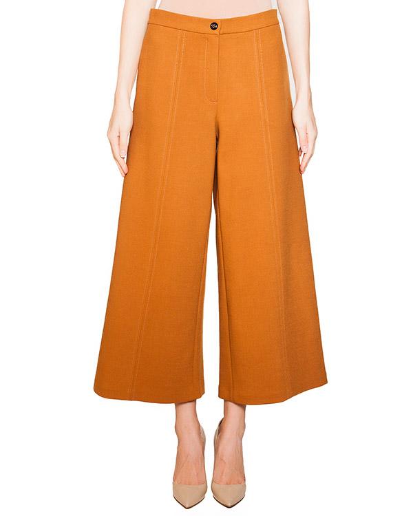 брюки из плотной полушерстяной ткани артикул 54VP416 марки VIVETTA купить за 16000 руб.