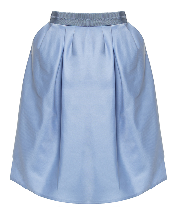 юбка драпированная асимметричными складками артикул 550J67 марки Carven купить за 10600 руб.