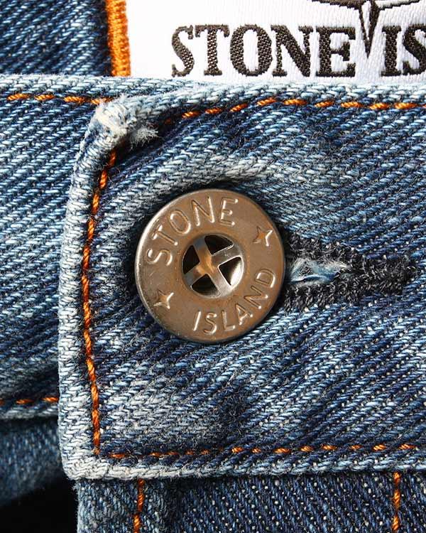 мужская джинсы Stone Island, сезон: лето 2015. Купить за 12100 руб. | Фото 4
