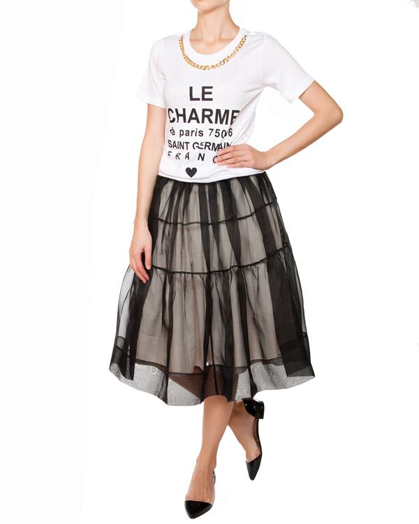 женская футболка Edward Achour, сезон: лето 2015. Купить за 3700 руб. | Фото $i