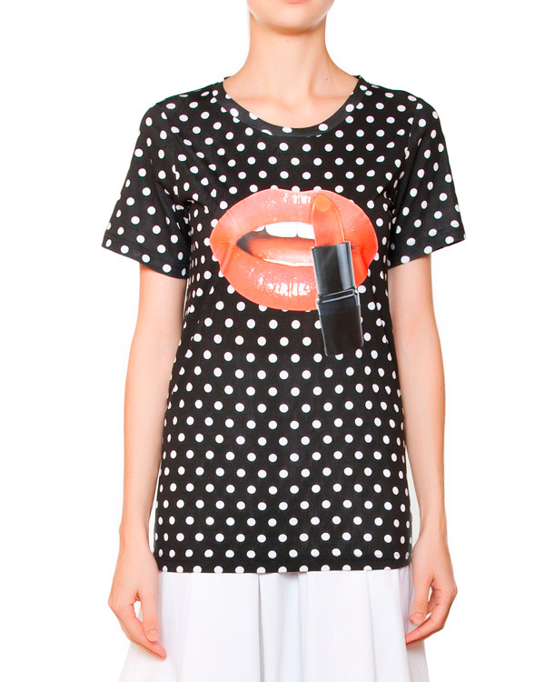 женская футболка Edward Achour, сезон: лето 2015. Купить за 9000 руб. | Фото 1