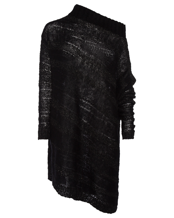 джемпер удлиненного силуэта из шерсти мохера артикул 63L01 марки MASNADA купить за 34600 руб.