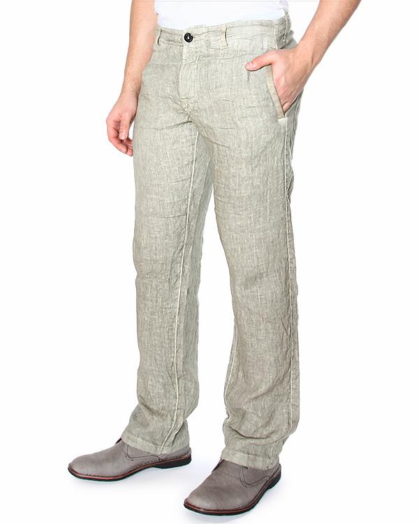 брюки прямого кроя, со средней посадкой и боковыми прорезными карманами артикул 62153GZ01 марки Stone Island купить за 7200 руб.