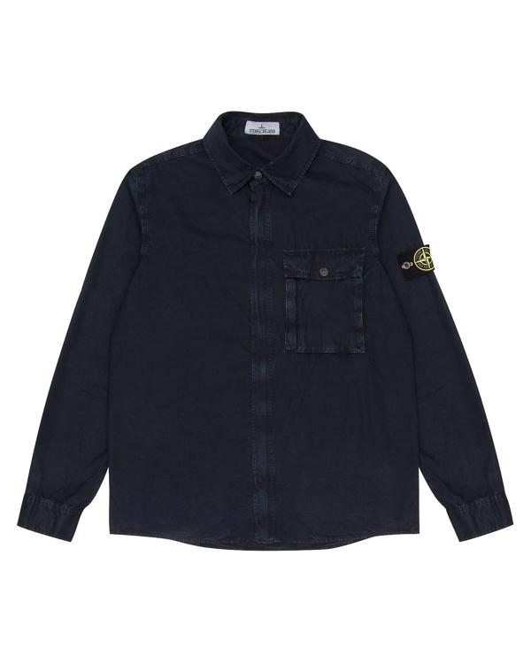 рубашка из хлопковой бумазеи артикул 6715102WN марки Stone Island купить за 16600 руб.