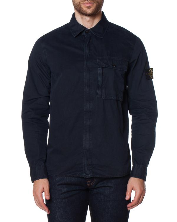 мужская рубашка Stone Island, сезон: зима 2017/18. Купить за 16600 руб. | Фото $i