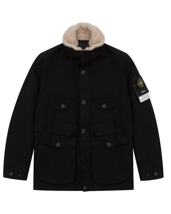 куртка из плотного влагоотталкивающего материала артикул 671541549 марки Stone Island купить за 73900 руб.
