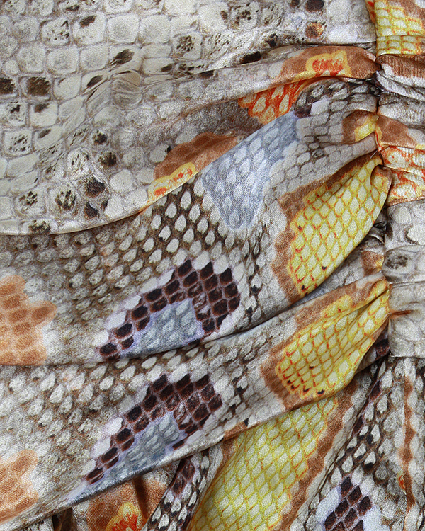 женская платье Galliano, сезон: лето 2013. Купить за 17800 руб. | Фото 4