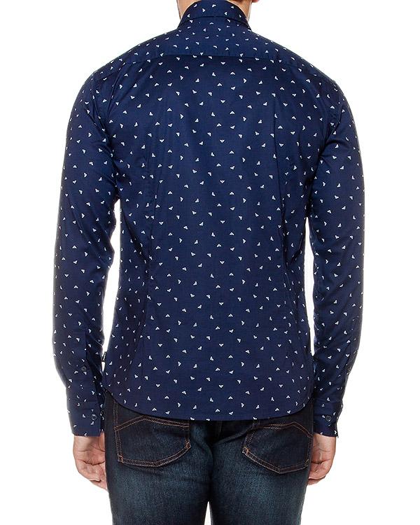 мужская рубашка ARMANI JEANS, сезон: зима 2016/17. Купить за 11500 руб. | Фото 2