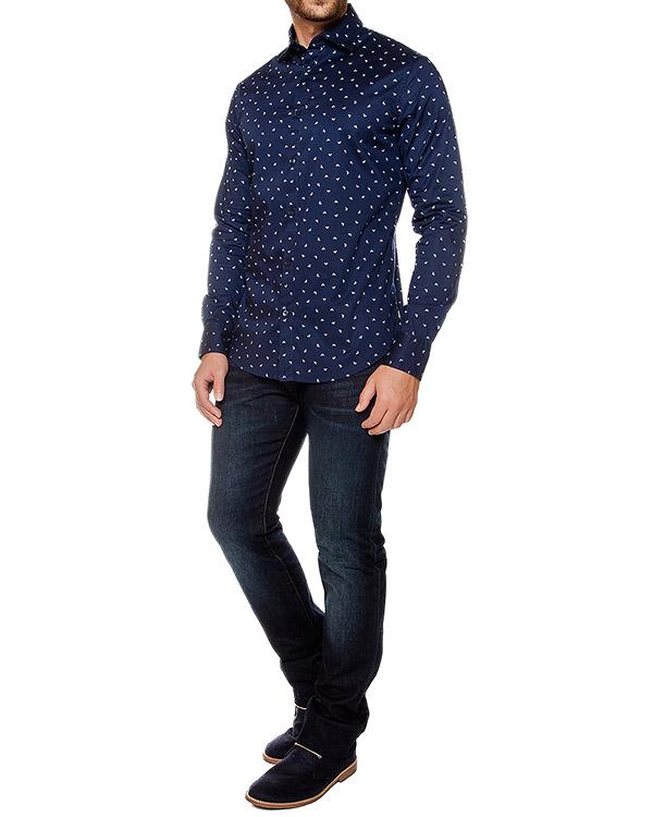 мужская рубашка ARMANI JEANS, сезон: зима 2016/17. Купить за 11500 руб. | Фото 3