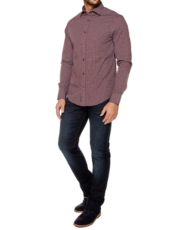 мужская рубашка ARMANI JEANS, сезон: зима 2016/17. Купить за 11200 руб. | Фото 3